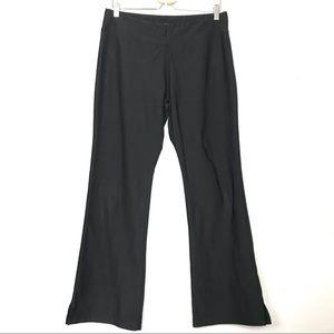 Lucy Tech Black Yoga Pants Sz Large Wide Leg